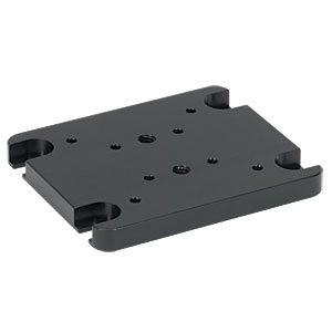 XT66P1 - Vertical Mounting Plate for 34 mm & 66 mm Optical Rails