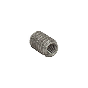 AE8E25E - Adapter with Internal 8-32 Threads and External 1/4in-20 Threads, 0.38in Length