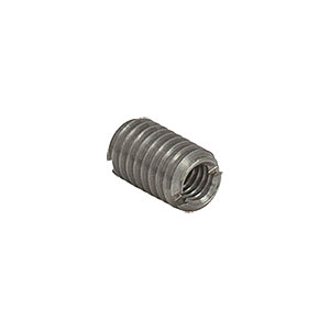 AE4M6M - Adapter with Internal M4 x 0.7 Threads and External M6 x 1.0 Threads, 10.0 mm Length