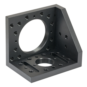 CAM2 - Right-Angle Bracket for SM1 and SM2 Lens Tubes, Imperial Taps