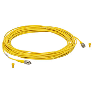 P1-1550A-FC-10 - Single Mode Fiber Patch Cable, 10 m, 1460-1620 nm, FC/PC