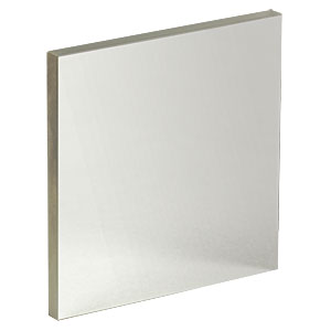 ME2S-P01 - 2in Square Protected Silver Mirror, 3.2 mm Thick