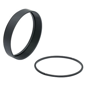 SM3L05 - SM3 Lens Tube, 0.5in Thread Depth, One Retaining Ring Included