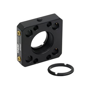 SP02 - Compact Cage Plate with SM05 Thread for a 16 mm Cage System (SM05RR Included)