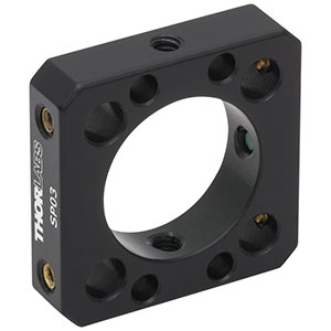 SP03 - Compact Cage Plate with 16 mm Aperture for a 16 mm Cage System