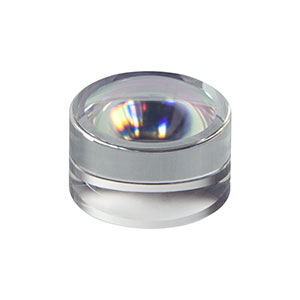 352110-C - f = 6.24 mm, NA = 0.4, Unmounted Geltech Aspheric Lens, AR: 1050-1620 nm