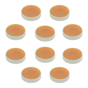 BB1-E04-10 - 10 Pack of Ø1in Broadband Dielectric Mirrors, 1280-1600 nm
