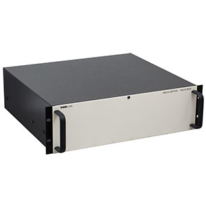 RBX32-BFP/M - Rack Box Chassis with Blank Front Panel, M6-Tapped Breadboard