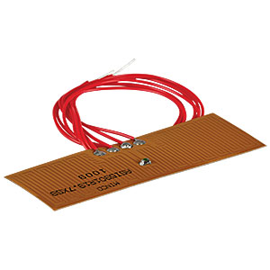 HT10K - Flexible Polyimide Foil Heater with 10 kΩ Thermistor