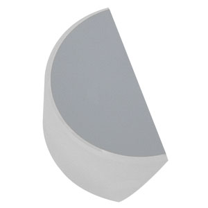 PFD05-03-F01 - Ø1/2in UV-Enhanced Aluminum D-Shaped Mirror