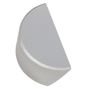 PFD05-03-P01 - Ø1/2in Protected Silver D-Shaped Mirror