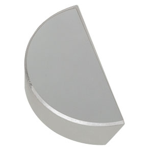 PFD10-03-P01 - Ø1in Protected Silver D-Shaped Mirror