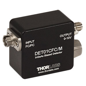 DET01CFC/M - 1.2 GHz InGaAs FC/PC-Coupled Photodetector, 800 - 1700 nm