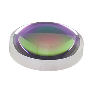AL2018-C - Ø20 mm S-LAH64 Aspheric Lens, f=18 mm, NA=0.49, ARC: 1050-1700 nm