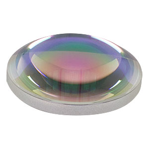 AL2520-C - Ø25 mm, f=20.0 mm, NA=0.543, S-LAH64 Aspheric Lens, ARC: 1050-1620 nm