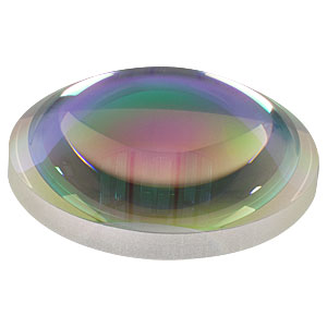 AL5040-C - Ø50 mm S-LAH64 Aspheric Lens, f=40 mm, NA=0.54, ARC: 1050-1700 nm