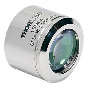 LSM03 - 5X OCT Scan Lens, EFL=36 mm, Design Wavelength=1315±65 nm