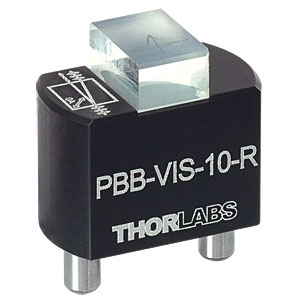 PBB-VIS-10-R - Walk-Off Polarizer Module, 620-690 nm, Right Handed