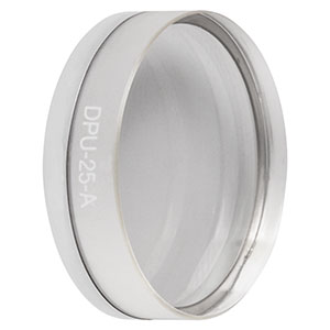 DPU-25-A - Achromatic Depolarizer, Ø25.4 mm, AR Coating: 350 - 700 nm