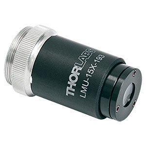 LMU-15X-193 - MicroSpot Focusing Objective, 15X, 192 - 194 nm, NA = 0.32