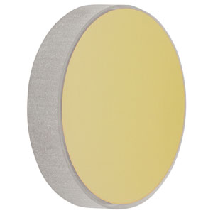 CM508-100-M01 - Ø2in Gold-Coated Concave Mirror, f = 100.0 mm