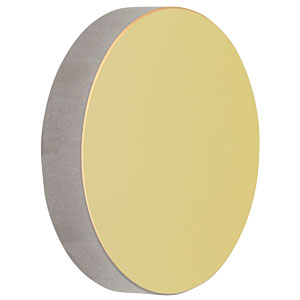 CM750-075-M01 - Ø75 mm Gold-Coated Concave Mirror, f = 75.0 mm