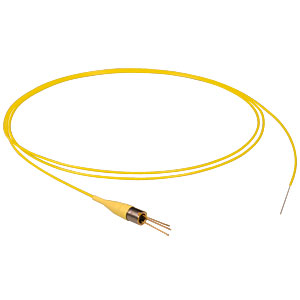 FDSP660 - Pigtailed Si Photodiode, SM Fiber, 610 - 770 nm, No Connector
