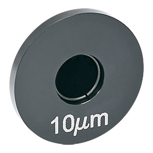 P10S - Ø10 µm Precision Pinhole, Ideal For Building Spatial Filters