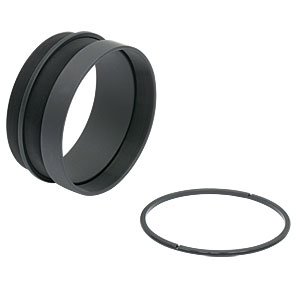 SM3V10 - Ø3in Adjustable Lens Tube, 0.81in Travel