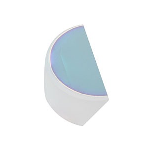 BBD05-E02 - Ø1/2in Broadband Dielectric D-Shaped Mirror, 400 - 750 nm