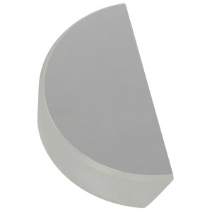BBD1-E02 - Ø1in Broadband Dielectric D-Shaped Mirror, 400 - 750 nm