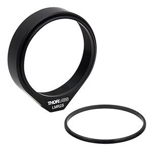 LMR2S - Ø2in Lens Mount with Internal and External SM2 Threads, 8-32 Tap