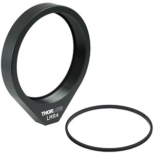 LMR4 - Lens Mount for Ø4in Optics, One Retaining Ring Included