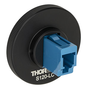 S120-LC - LC Fiber Adapter Cap with Internal SM1 (1.035in-40) Thread