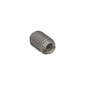 AE6E6M - Dual Threaded Adapter with Internal 6-32 Threads and External M6 x 1.0 Threads