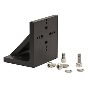 PT102/M - Right-Angle Bracket for PT Series Translation Stages, M6 Mounting Holes