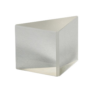PS908L-A - N-BK7 Right-Angle Prism, 20 mm, AR Coating on Legs: 350-700 nm