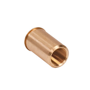 F25SSN1P - 1/4in-80 Threaded Bushing, Phosphor Bronze, 0.63in Long