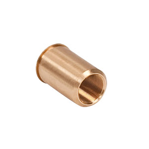 F25SSN2P - 1/4in-80 Threaded Bushing, Phosphor Bronze, 0.57in Long