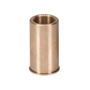 F25USN1P - Threaded Bushing, Phosphor Bronze, 1/4in-100, 0.63in Long