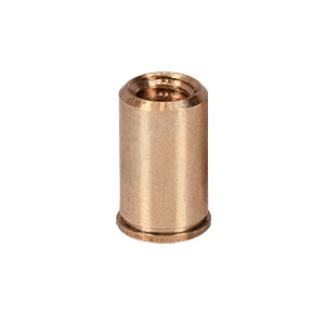 CS25SSN1P - 1/4in-20 X 0.57in Phosphor Bronze Coarse Adjustment Bushing