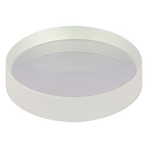 LC1254-C - N-BK7 Plano-Concave Lens, Ø25 mm, f = -100 mm, AR Coating: 1050-1700 nm