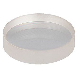 LC1258-A - N-BK7 Plano-Concave Lens, Ø25 mm, f = -75.0 mm, AR Coating: 350-700 nm