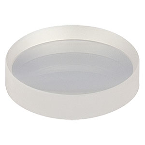 LC1258-B - N-BK7 Plano-Concave Lens, Ø25 mm, f = -75.0 mm, AR Coating: 650-1050 nm