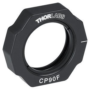 CP90F-F - 30 mm Removable Cage Plate, Removable Front Plate, Internal SM1 Threading