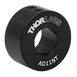 AD11NT - Ø1in Unthreaded Adapter for Ø11 mm Cylindrical Components