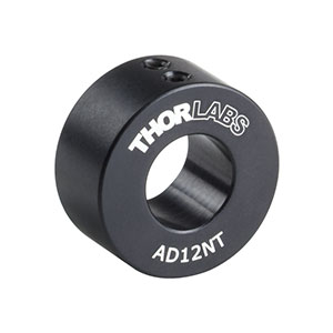 AD12NT - Ø1in Unthreaded Adapter for Ø12 mm Cylindrical Components