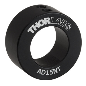 AD15NT - Ø1in Unthreaded Adapter for Ø15 mm Cylindrical Components