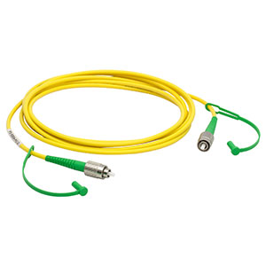P3-830A-FC-2 - Single Mode Patch Cable, 830 - 980 nm, FC/APC, Ø3 mm Jacket, 2 m Long