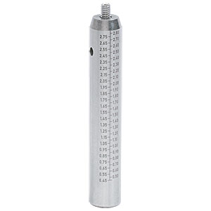 TR3E - Ø1/2in x 3in Graduated Stainless Steel Optical Post